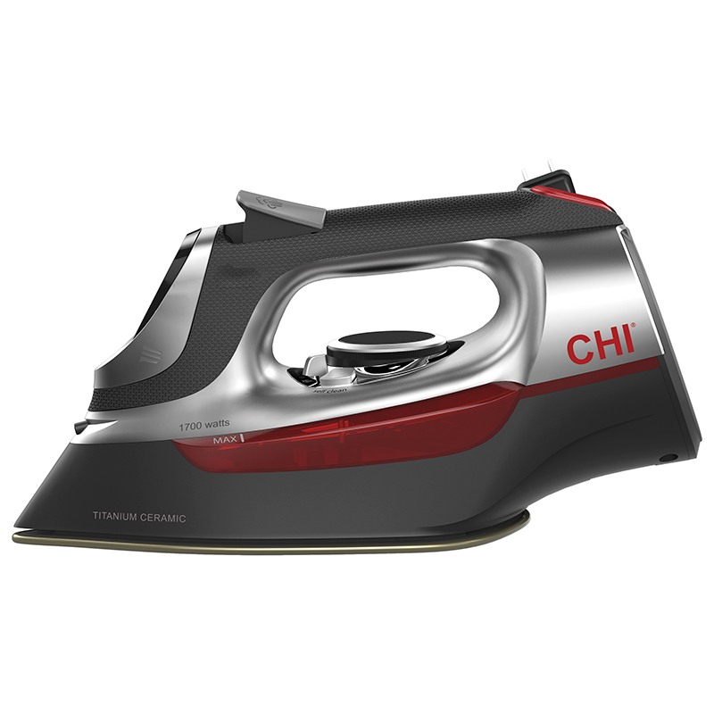 CHI Electronic Retractable Iron 13102 - Side View