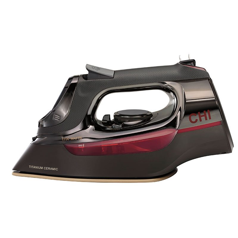CHI Electronic Retractable Iron 13105 - Side View