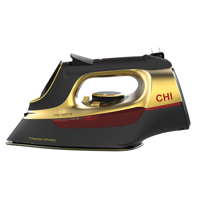 CHI Retractable Iron - Gold (13116) - Size View